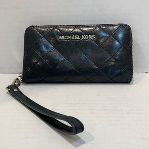 Michael Kors Jet Set Quilted Leather Wallet